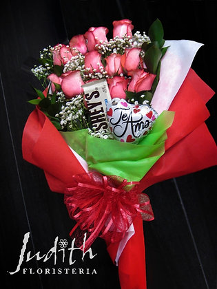 T37- Manual rosas, chocolate y bomba