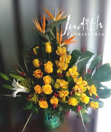 T52- Rosas, Orquídeas y Lirios