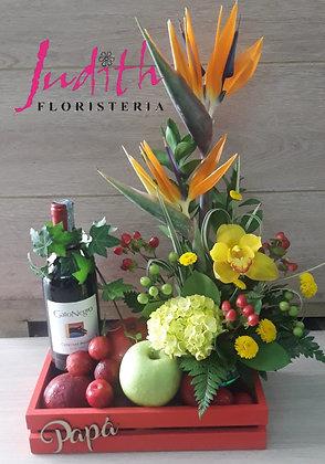 T15- Flores, frutas y licor