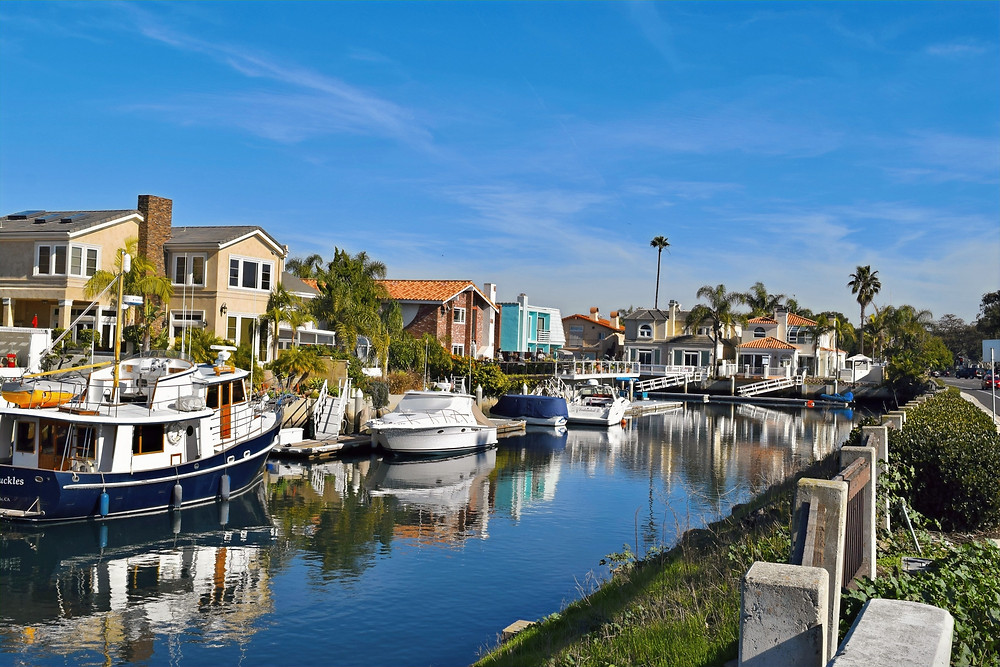 Oxnard is a seaside city west of Los Angeles, in California.