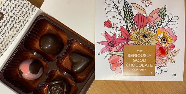 Apricot floral 4 Box