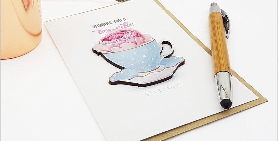 Wishing you a tea- rific Birthday by Crystal Ashley
