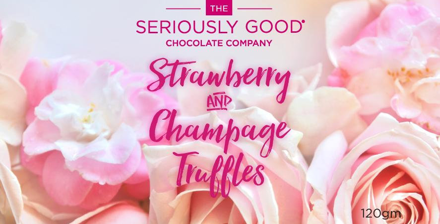 Seriously Good Chocolate - Strawberry & Champagne Truffles