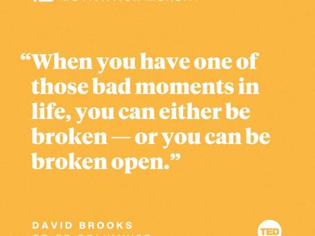 Break open and shine!