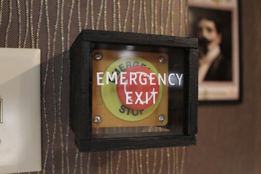 Escape Room Emergency Exit Button