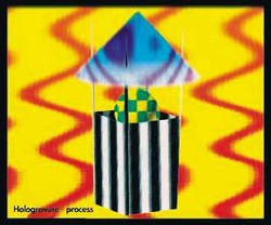 Hologravure : volume, space