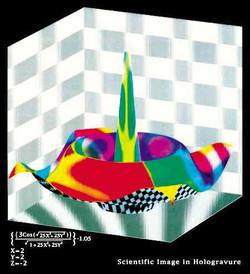 3D Hologravure - volume, space