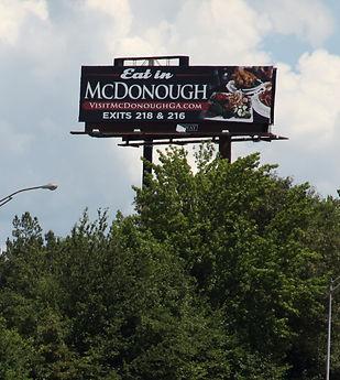 Billboard I-75 @ Delk Road, Atlanta