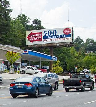 Billboard 1541 Northside Drive, Atlanta