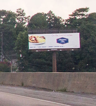Billboard I-85 @ Mitchell Road, Atlanta