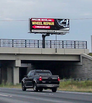Digital Billboard I-75 @ SR 54 / Jonesboro Road