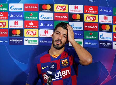 Luis Suarez Leaves Barcelona In Tears(Full Video)