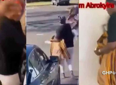 Ghanaian Wife Kicks Out Husband After He Fails To Pay Rent For Two Consecutive Months. (Full Video)
