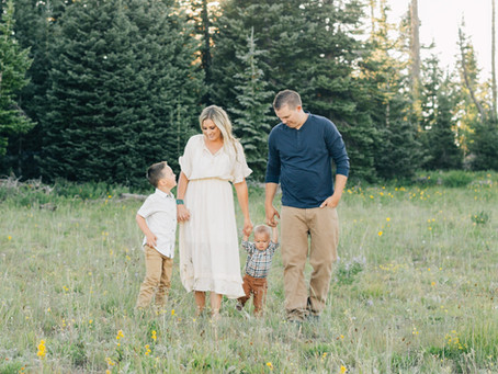 Summer Sunshine | Utah Family Photographer | Family Green Mountain Photos