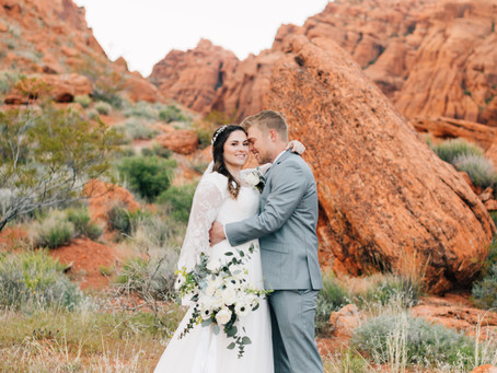 Red Rock Memories | Megan + Dawson Bridals | Utah Wedding Photographer | St. George Utah