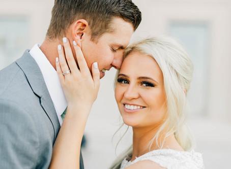 Cedar City Temple Wedding | Utah Wedding PHotographer