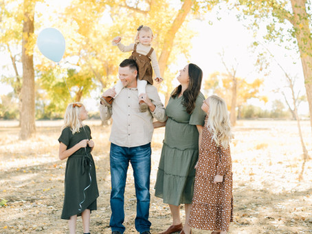 Holt Family | Cedar City Fall Mini Session | Southern Utah Family Photographer