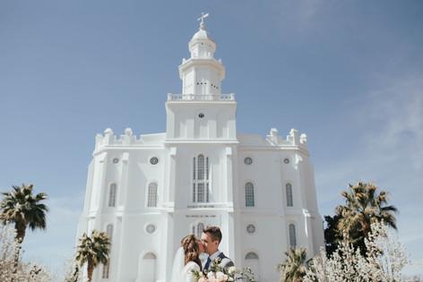Wedding Day | Kenzie Mae Photography | Southern Utah Wedding Photographer | St George Temple