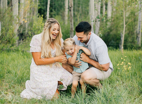 Hill Family | Cedar City Family Pictures | Summer Family Session