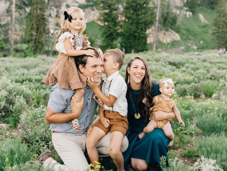 Logan Utah Family Pictures | Perry Family