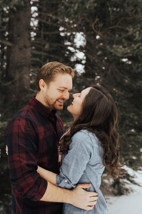 Engagement Session. | Kenzie Mae Photography | Cedar City Engagement Photographer | Cedar City Wedding Photographer