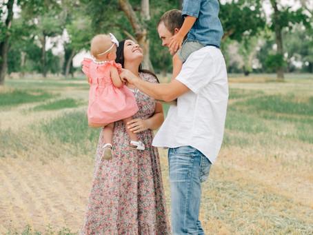 Cedar City Family Photographer | Summer Family Pictures