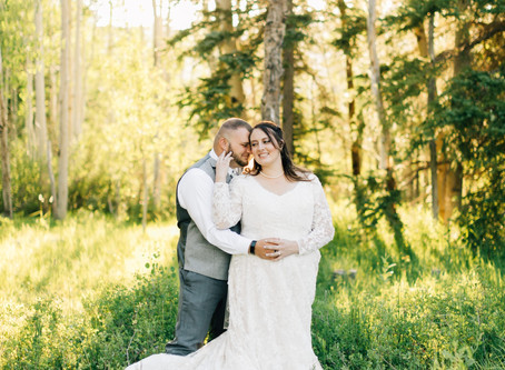 Mountain Bridal Session | Utah Wedding Photographer