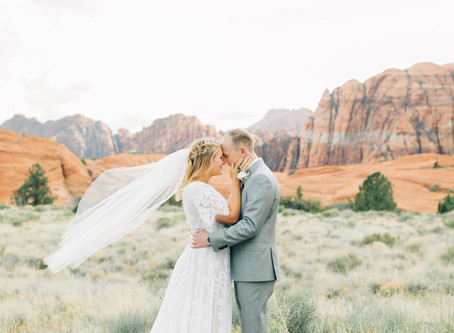 St George photoshoot locations | Utah Wedding Photographer | Olivia & Andrew