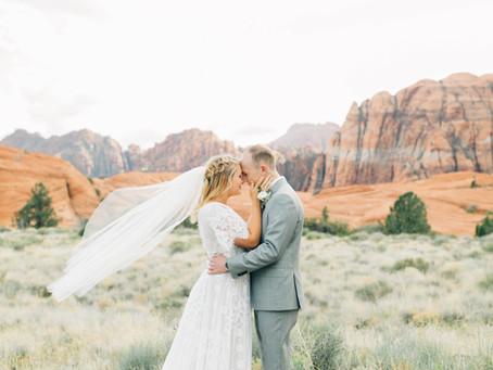 St George photoshoot locations | Utah Wedding Photographer | Olivia & Andrew