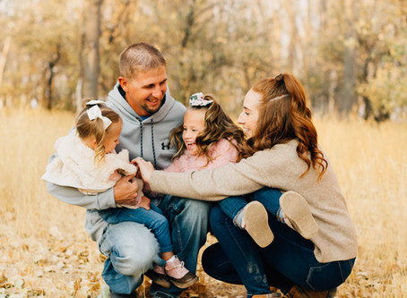 Fall on the Farm | Cedar City Family Photographer