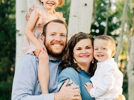 Extended Family Session   Utah Family Photographer   Brian Head Utah