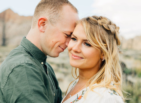 Utah Engagement Photographer | Snow Canyon Engagement Pictures
