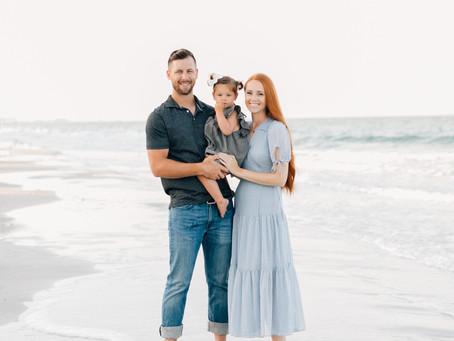 Family Photos on the Beach | Sanderson Family