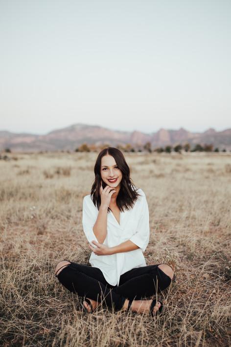 Senior Portrait Session. | Kenzie Mae Photography | Southern Utah Portrait Photographer | Southern Utah Senior