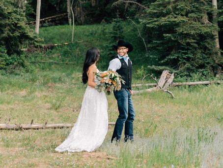 Utah Mountain Elopement | Cedar City Wedding Photographer