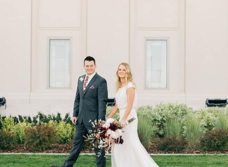 Temple Exit Tips | Utah Temple Wedding