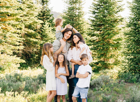 Excite Kids for Utah Family Photos | The McCabe Family