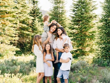 Excite Kids for Utah Family Photos   The McCabe Family