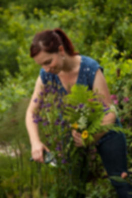 Stephanie Mahon, garden writer, Magazine Editor, fern, Welsh poppy, aquilegia, secateurs