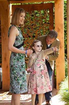 Chris Beardshaw, Chelsea Flower Show, Morgan Stanley, Great ormond street Hospital, Rosamund Pike