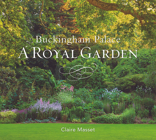 Buckingham palace royal garden queen book seasons photography