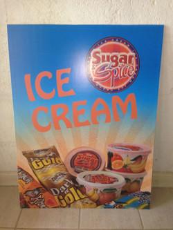 Sugar & Spice Sign