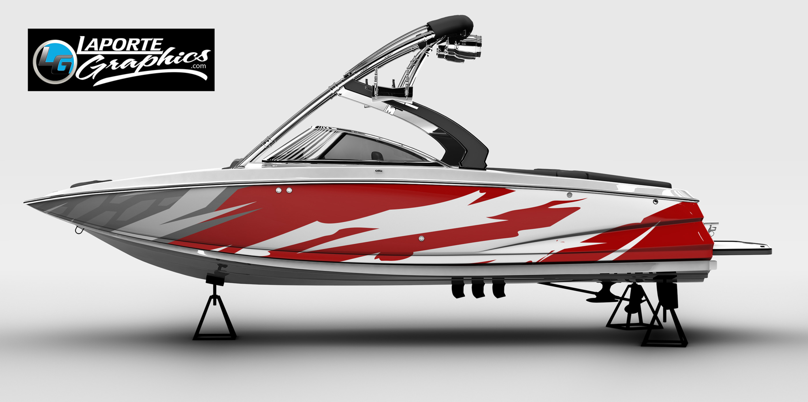 Boat Wraps And Boat Graphics Laporte Graphics