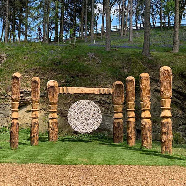 The oceanic (2019) The Himalayan Garden & Sculpture Park, Yorkshire, UK