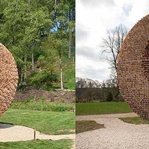 Pineapple disc (2019) The Himalayan Garden & Sculpture Park, Yorkshire, UK