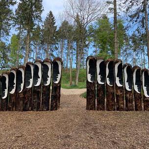 Dialogs (2019) The Himalayan Garden & Sculpture Park, Yorkshire, UK