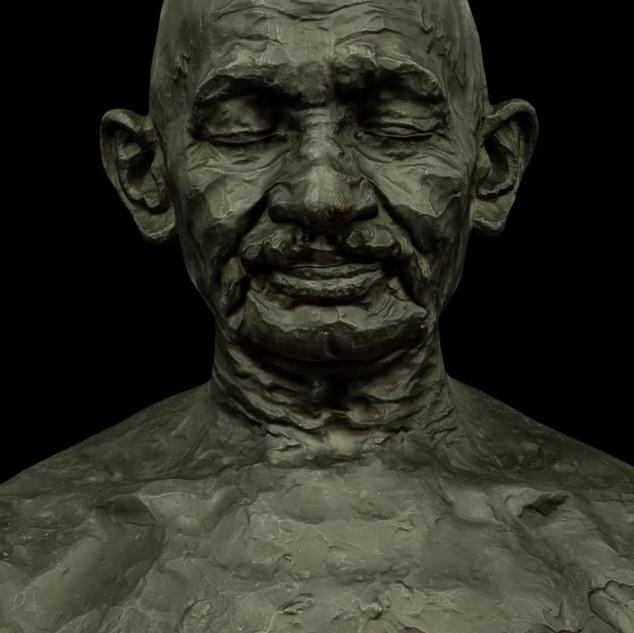 Mahatma Gandhi's heart sounds (Video)