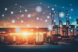 Canva - Business Logistics concept, Glob