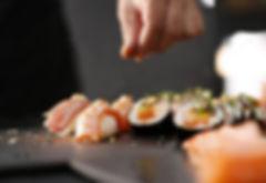 seasoning sushi