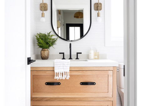 Our Powder Room Reveal